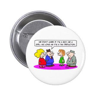 tax deduction pregnant boy or girl pin