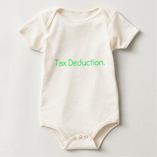 Tax Deduction. Baby Bodysuit