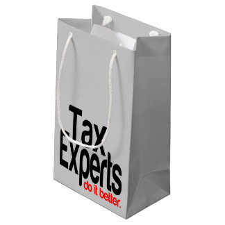 Tax Experts Do It Better Small Gift Bag