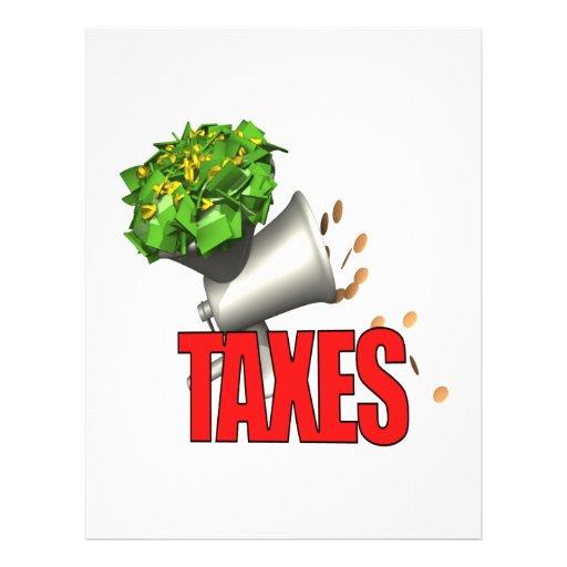 Tax Grinder Flyer Design