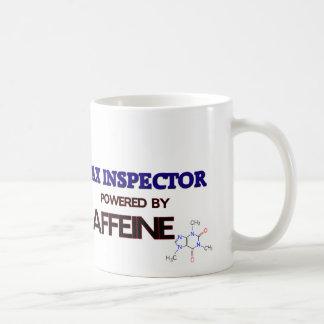 Tax Inspector Powered by caffeine Mugs