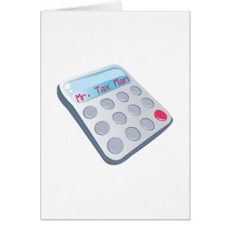 Tax Man Card