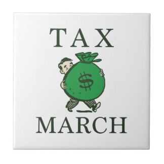 Tax March Ceramic Tile