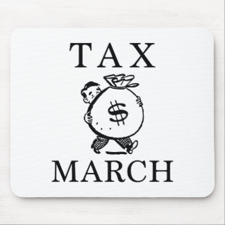 Tax March Mouse Pad