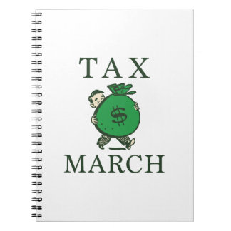 Tax March Notebooks