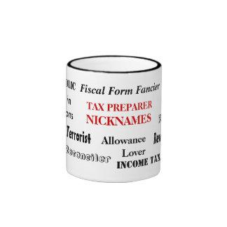 Tax Preparer Nicknames Coffee Mug