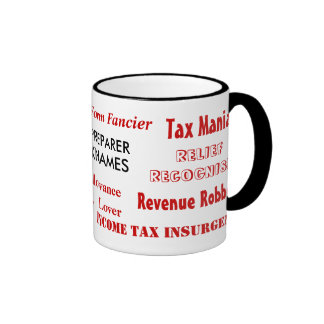 Tax Preparer Nicknames Mugs