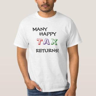 Tax Returns Funny Tax Season Quote Slogan T-Shirt