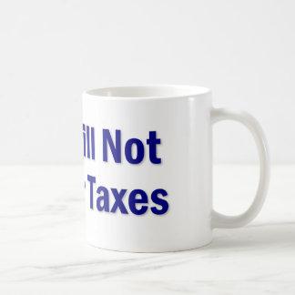 Tax Saying Basic White Mug