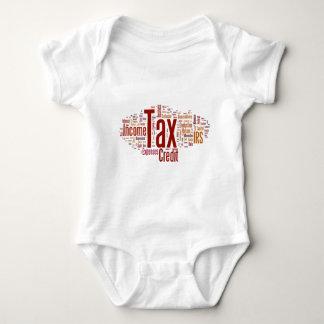 Tax season is here baby bodysuit