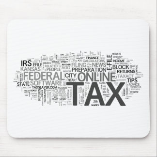 Tax season mousepads