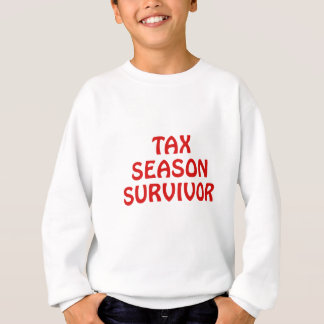 Tax Season Survivor Sweatshirt