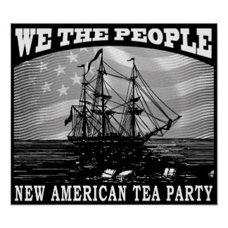 Tax Tea Party Posters