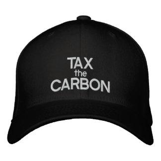 TAX THE CARBON - Customizable Baseball Cap