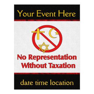 Tax The Churches Custom Flyer