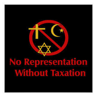 Tax The Churches Posters