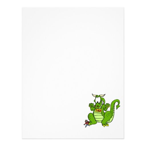 Tax the Dragon Custom Flyer
