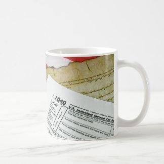 Tax Time Basic White Mug