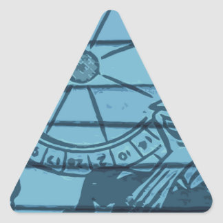tax time triangle stickers