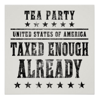 Taxed Enough Already Poster