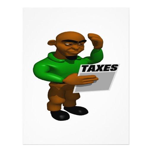 Taxes Custom Flyer
