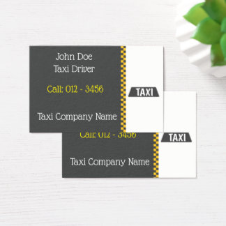 Taxi-Based Business Card