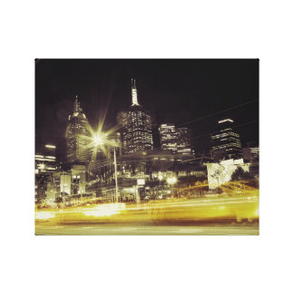 Taxi Blur Canvas Prints