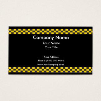 Taxi Border Business Card
