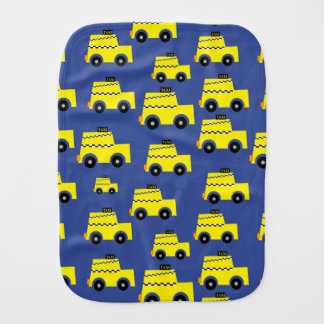 Taxi Burp Cloth