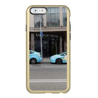Taxi Cabs in Vilnius Lithuania Incipio Feather® Shine iPhone 6 Case