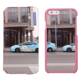 Taxi Cabs in Vilnius Lithuania Incipio Watson™ iPhone 6 Wallet Case
