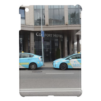 Taxi Cabs in Vilnius Lithuania iPad Mini Cases