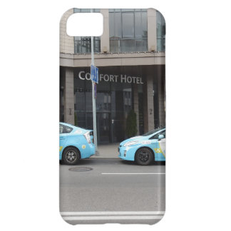 Taxi Cabs in Vilnius Lithuania iPhone 5C Case