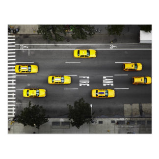Taxi Cabs Postcard