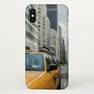 Taxi City View Unique Photo Art iphone Cover