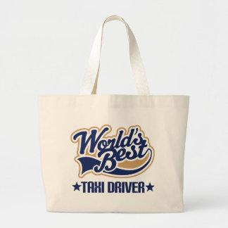 Taxi Driver Gift Jumbo Tote Bag