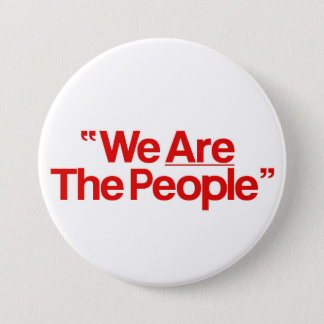 """Taxi Driver """"incoming goods of acres The People """" 7.5 Cm Round Badge"""