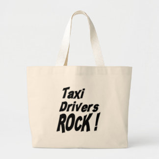 Taxi Drivers Rock! Tote Bag