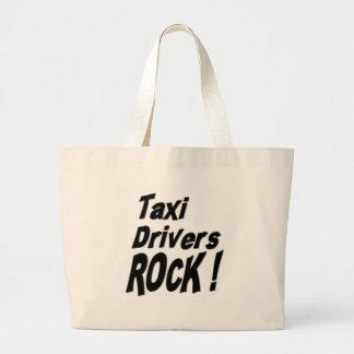 Taxi Drivers Rock! Tote Bag