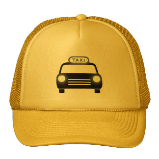 Taxi in Black & White Hats