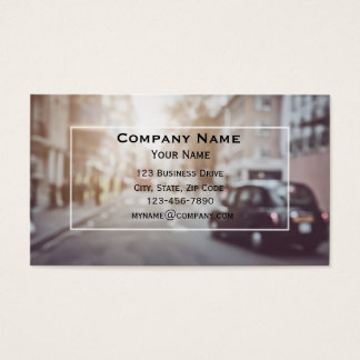 Taxi in London Business Card