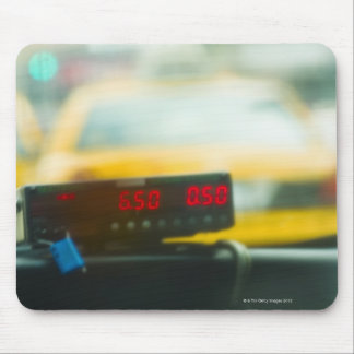Taxi Meter Mouse Pad