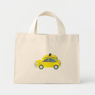 Taxi Mini Tote Bag