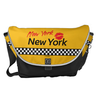 Taxi New York & Red KIS Messenger Bags