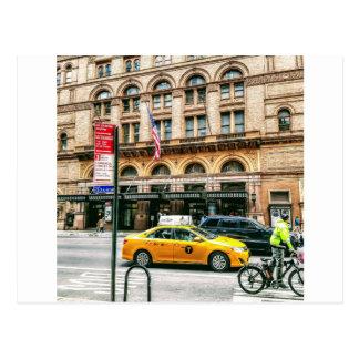 Taxi! Postcard