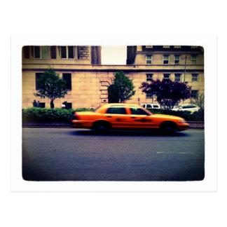 Taxi Postcard