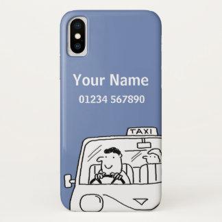 Taxi Theme Cartoon iPhone X Case