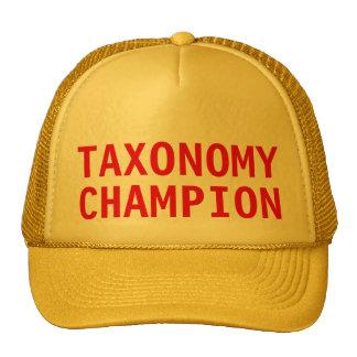 """Taxonomy Champion"" Trucker Hat"