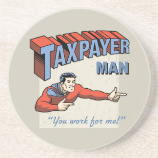 Taxpayer Man Coaster