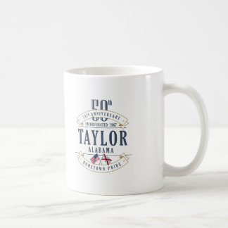 Taylor, Alabama 50th Anniversary Mug